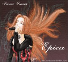 Simone Simons of Epica by Shabul