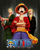 ONE PIECE POSTER (commision) by Senlegio13