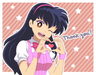Thank you! by Lizally