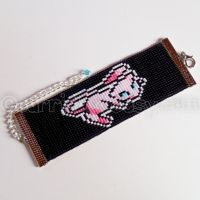 Beaded Mew Bracelet Commission by CarrieBea