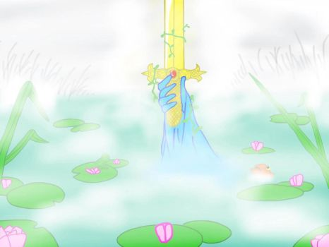 The Sword of Enchantia / Spirit of the lily pond by Greatgodofmineworld