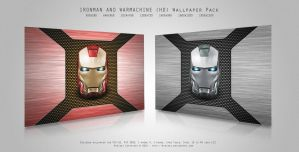 IRONMAN AND WARMACHINE HD by MIATARI