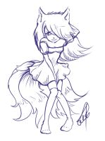 mini Ahri by cartoonmaniack