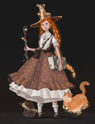 Concept of witch by MILMARI