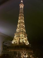 Eiffel Tower at night - NV by scandalouscombo