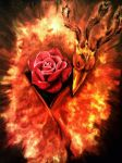 The Phoenix and the Rose by klineguy22