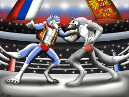 The Werewolf Battle for Mother Russia by DragonSnake9989