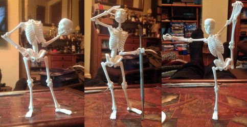 Holy Over Theatrical Dancing Skeletons Batman! by mattbag