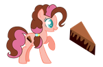 MLP Chocolate Cake by CloudySunshineYT