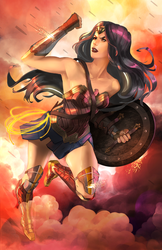 Wonder Woman by GenIshihara