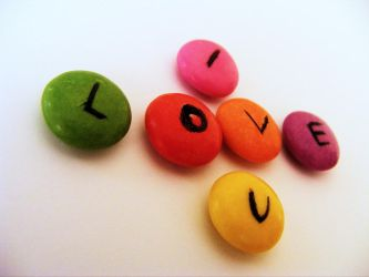 I SHlove you.. smarties. by Jodmiester