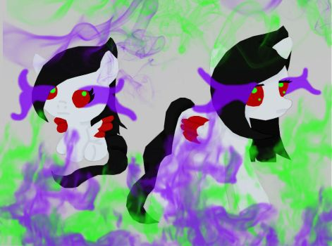 Shadow Streak (Baby and Young)~ by Lovepiko