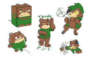 [OC] 2. Tendo by Yukibenproject