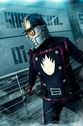 Star Lord- Guardiands Of the galacy by JonathanDuran