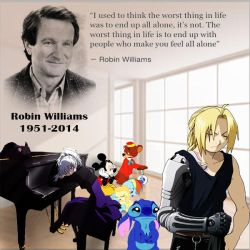 Robin Williams Tribute by yugioh1985