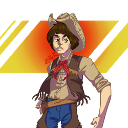 Cowboy Adric ~ REQUEST by Lillou-chan