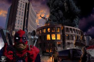 Dead Pool Merc With A Mouth by Guardedspirit