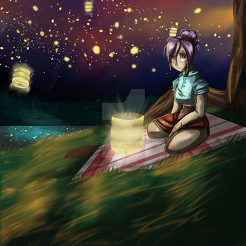 late night picnic by Despicable5mee