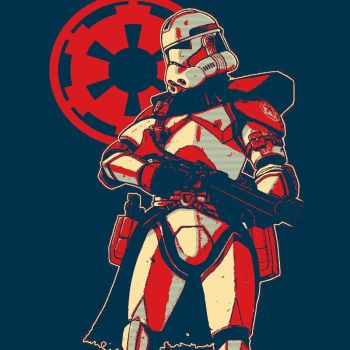 Star Wars Empire Clone Trooper by pauleto18