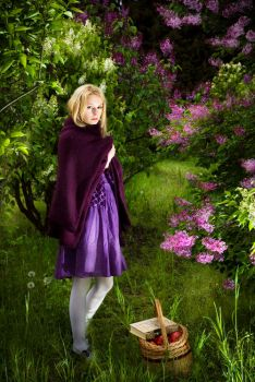 Little Purple Riding Hood by tomaszkajdasz
