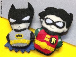 the Dynamic (finger puppet-y) Duo! by imJEANNEus