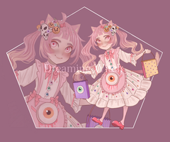 Koneko Adopt AUCTION - (Closed) #5 by Dreaming-Witch