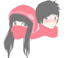 scarf by iLOVEdomo