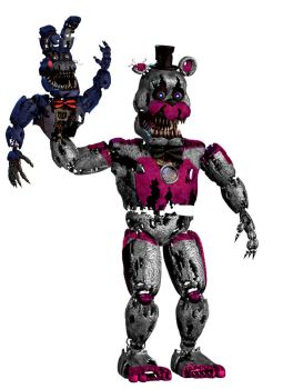 Nightmare funtime freddy by awesomedragster