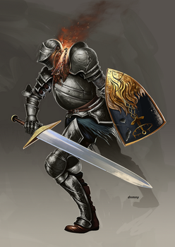 Dark Souls Knight by DNMNY