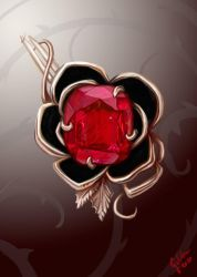 Jewelry - The Knightly rose brooch by Galder