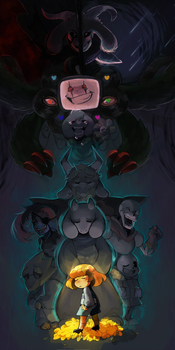 undertale by poniecake