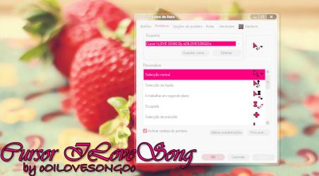Cursor I LOVE SONG by oOILOVESONGOo