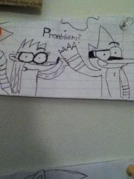 First art of 2013 .Problem? by Creepergamer12