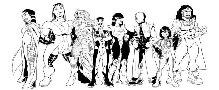 The Lineup inks by TeamFSX