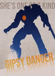 Pacific Rim - Gipsy Danger Poster by mercscilla