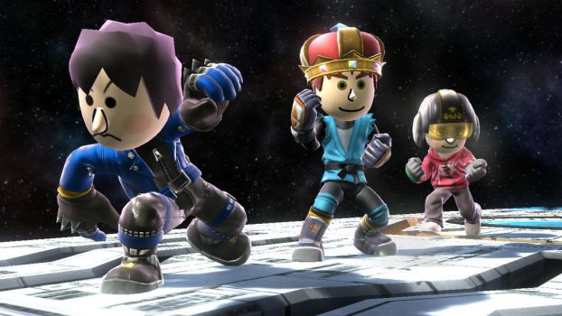 Mii Deviant Fighters #19 by TomodachiSmash