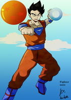 Ultimate Gohan by fighterxaos