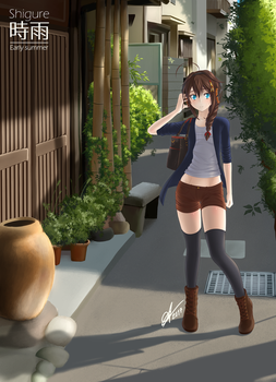 Shigure - Early summer by Arazand