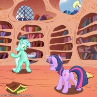 Twilight learned a new spell by Dracodile