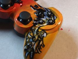 Devil Angel gamepad COMPL3 by MissCreepers