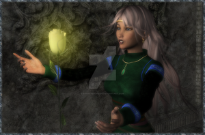 Rose in the Ruins by EdenEvergreen