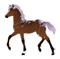 N3105 Padro Foal Design for DarkestNation by casinuba