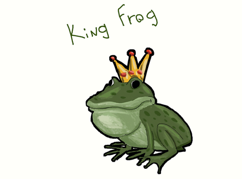 King Frog by matheusantos