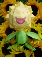 Sunflora papercraft by TimBauer92