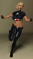 Rule 63: Captain America by TGTrinity