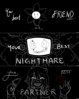 UNDERTALE | Your Best... by crowmulent