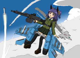 Machine Daughter - MiG-29SMT by pauldy