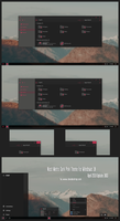 Nost Metro Dark Pink Theme Win10 April 2018 Update by Cleodesktop