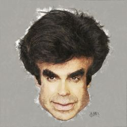 David Copperfield Caricature by davidlgood