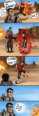 a tf2 comic by TheSym